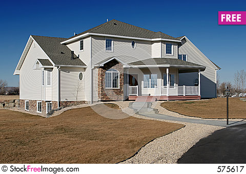 New american home Stock Photo