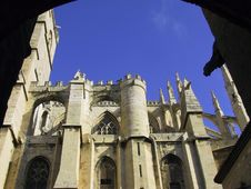 Free Castle Narbonne Royalty Free Stock Photography - 570527