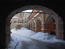 Monastery. Royalty Free Stock Image