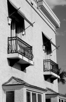 Free The Balcony Royalty Free Stock Photo - 570815