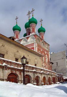 Monastery. Stock Photo