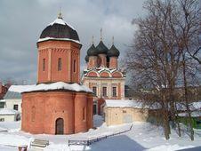 Church In A Monastery. Stock Photos