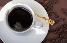 Free Cup Of Black Coffee Royalty Free Stock Image - 571316