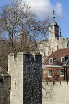 Free Tower Of London Royalty Free Stock Photography - 571497