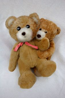 Free Loving Teddies Royalty Free Stock Images - 571659