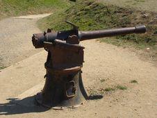 Free World War II Gun Royalty Free Stock Images - 571849