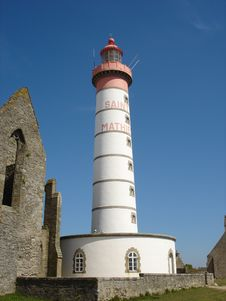 Free Saint Mathieu Lighthouse Stock Images - 571864