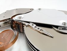 Free Hard Drive Detail 2 Royalty Free Stock Image - 571936