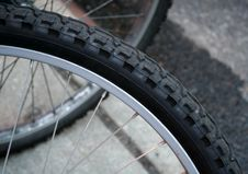 Free Bicycle Tire Abstract Royalty Free Stock Image - 572076