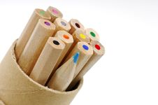Free Color Pencils Royalty Free Stock Images - 572789