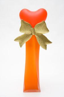 Free Heart In Vase Stock Image - 572801