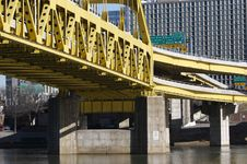 Free Pittsburgh Bridge Stock Images - 572914