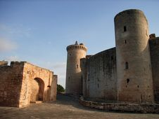 Free Bellver Castle - 5 Stock Photography - 573162