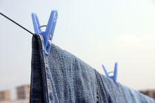 Free Clothesline III Stock Photo - 573320