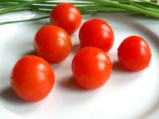 Free Cherry Tomatos Stock Photo - 573580
