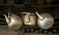 Free Old Teapots Royalty Free Stock Image - 573886