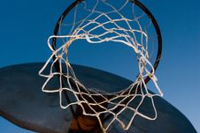 Free Basketball Hoop Royalty Free Stock Image - 574366