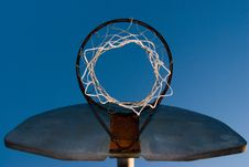 Free Basketball Hoop Royalty Free Stock Photography - 574367