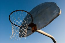 Free Basketball Hoop Royalty Free Stock Photos - 574368