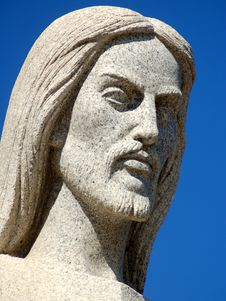 Free Marble Jesus Royalty Free Stock Photography - 574417