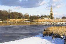 Free Winter Landscape Stock Image - 574521