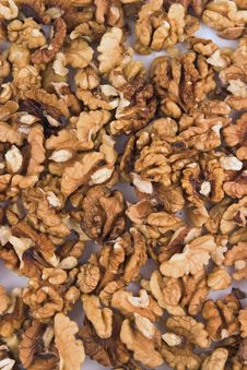 Free Nuts Background Portrait Stock Image - 574571