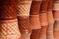 Free Flower Pots Royalty Free Stock Photography - 574577