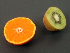 Free Kiwi And Orange Stock Images - 575784
