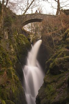Free Aira Force Falls Royalty Free Stock Photography - 575847