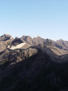 Free The Great Wall Of China Royalty Free Stock Image - 575966