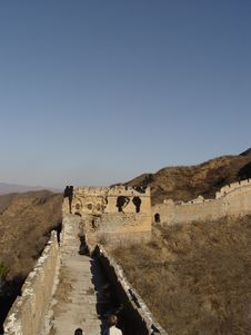 Free The Great Wall Of China Royalty Free Stock Photography - 575967