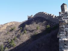 Free The Great Wall Of China Royalty Free Stock Photos - 575968