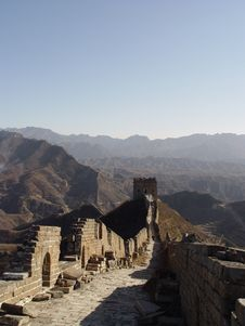 Free The Great Wall Of China Stock Photo - 575970
