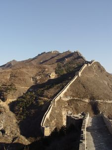 Free The Great Wall Of China Royalty Free Stock Photo - 576025