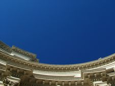 Free Roof Detail Against Sky Royalty Free Stock Photo - 576535