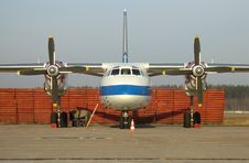 Free Antonov 26 Royalty Free Stock Images - 576539