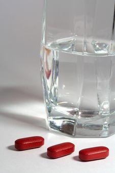 Three Pills Royalty Free Stock Image