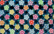 Free Colorful Plastic Flowers Royalty Free Stock Images - 577179