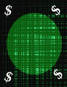 Free Dollar Sign Background Royalty Free Stock Image - 579146