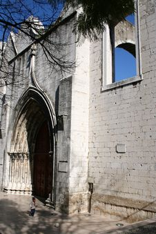Free Ruined Church Stock Photography - 579272