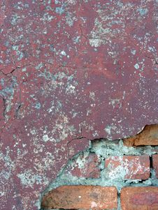 Old Brick Wall 5 Royalty Free Stock Photo