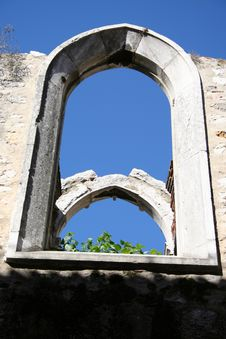 Free Window In Old Church Stock Photography - 579352