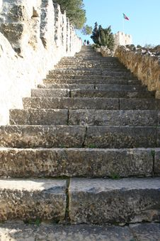 Free Stairs In The Castle Stock Image - 579471