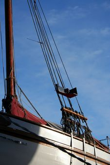 Free Details Of A Boat - Serie Royalty Free Stock Photos - 579618