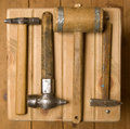Free Old Hammers Royalty Free Stock Photos - 5707778