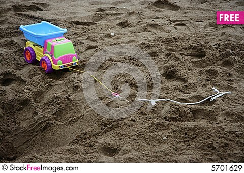 Free Toy Truck Royalty Free Stock Images - 5701629