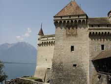 Free Castle Of Chillon At Montreau, Switzerland Stock Photography - 5700142