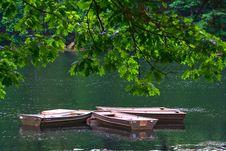 Free Row Boats Stock Image - 5700771