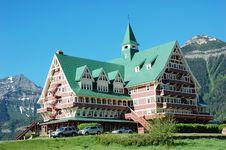 Free Historic Hotel Royalty Free Stock Image - 5701656