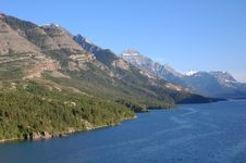 Free Upper Waterton Lake Royalty Free Stock Image - 5701676